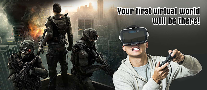 Your first virtual world,will be there!