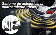 Sistema de asistencia al aparcamiento trasero