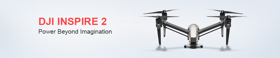 """DJI INSPIRE 2 Power Beyond Imagination"""