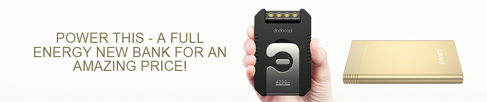 Power this - A full energy new bank for an amazing price!