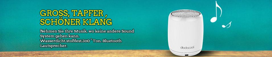 """""""GROSS, Tapfer , SCHÖNER KLANG  Nehmen Sie Ihre Musik, wo keine andere Sound System gehen kann.  Wasserdicht.stoßfest.360 ° Ton. Bluetooth Lautsprecher. """""""