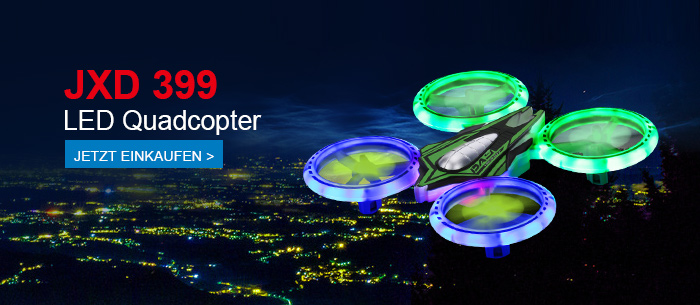 JXD 399  LED Quadcopter