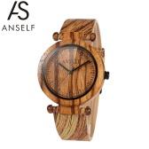 Anself Art und Weise Qualitäts-natürliche Bambusholz Armbanduhr
