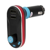 Bluetooth-Freisprecheinrichtung Telefon-Anruf Car Kit FM Transmitter MP3-Player