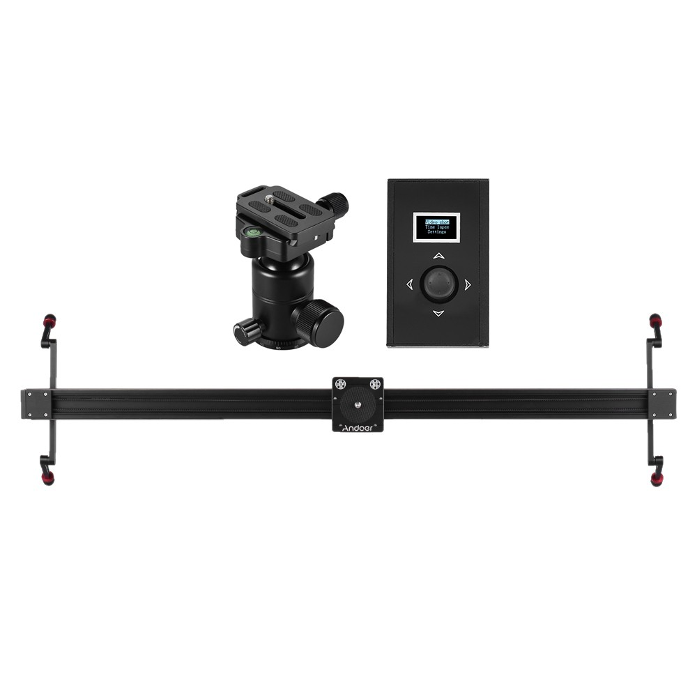 Camera Best Dslr Camera Slider best andoer 1m3 3ft electric control dslr camera slider stabilizer sale online shopping cafago com
