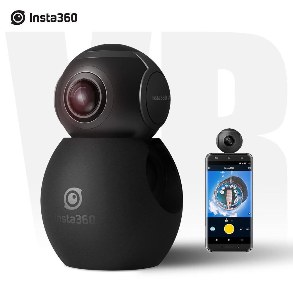 Best Insta360 Air Pocket Mini Panoramic 360 Degree Black