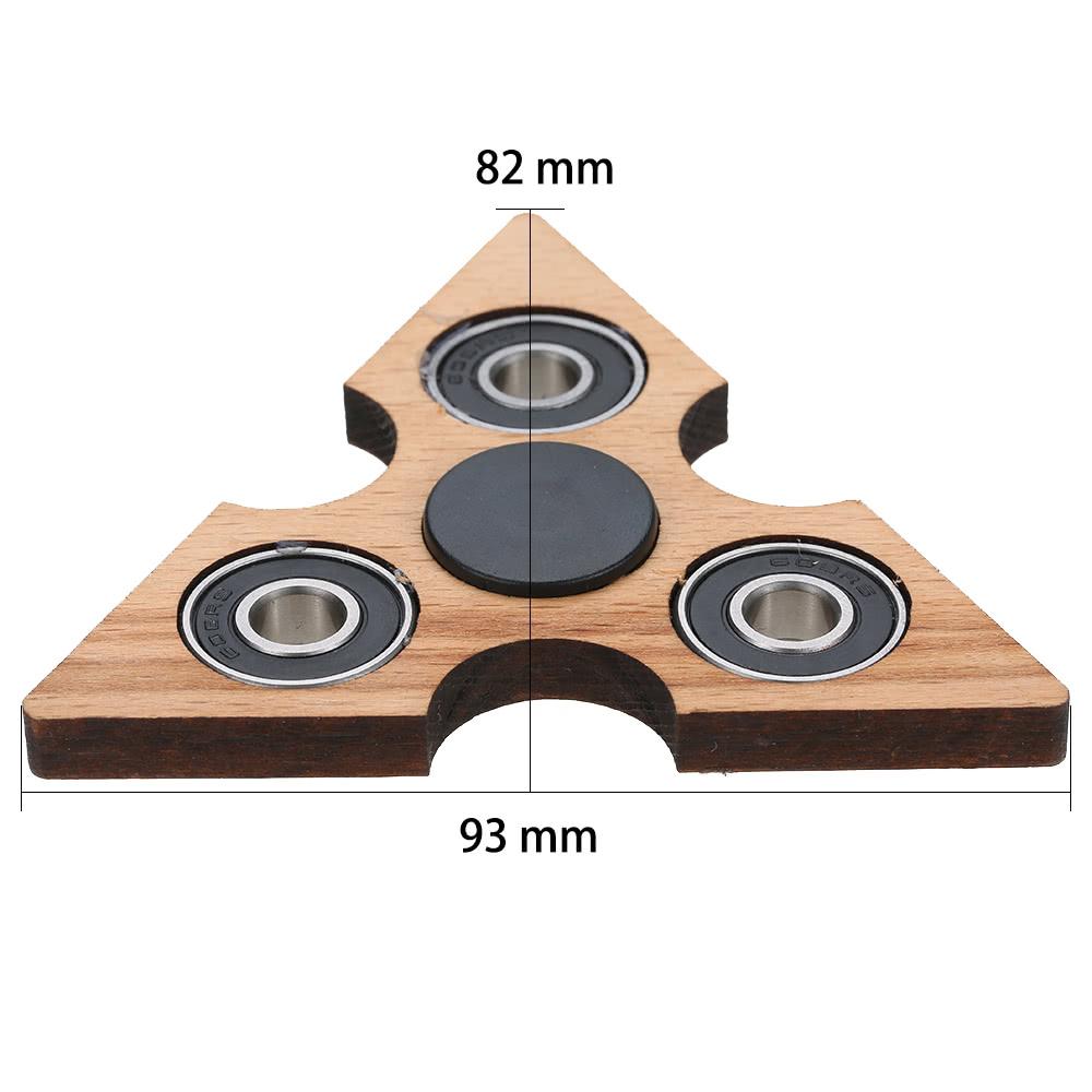 Best Triangle Wooden Fidget Hand Finger Spinner Spin