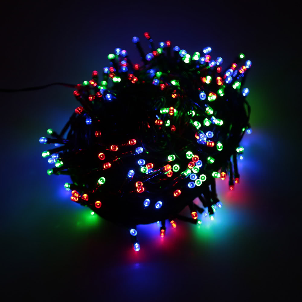 Best String Christmas Lights : Best RGB 400 LED Christmas String Light Decoration Fairy Xmas Tree Sale Online Shopping Cafago.com