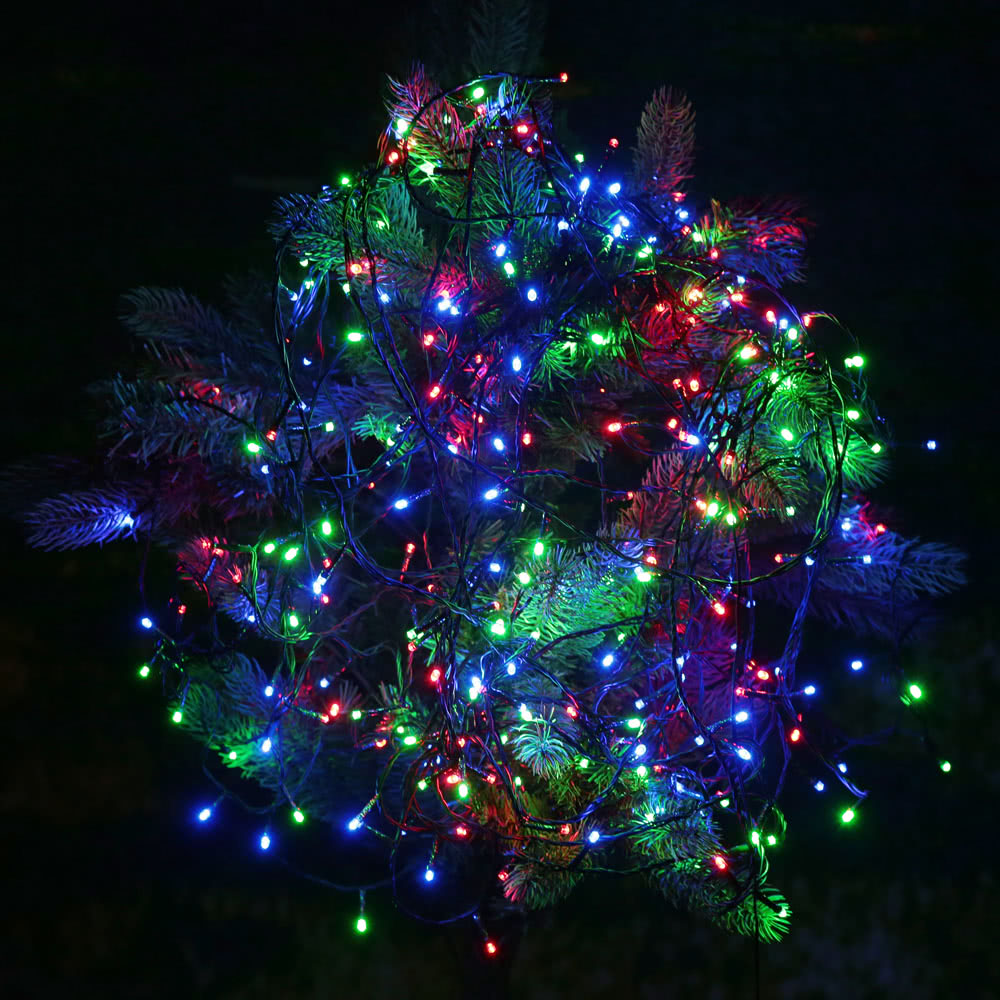 String Lights In Trees: Best RGB 400 LED Christmas String Light Decoration Fairy