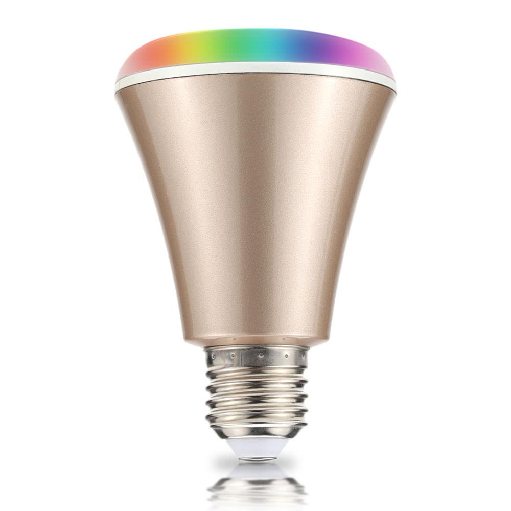 Best 4w Bluetooth Smart Speaker Led E27 Light Bulb App Smartphone Gold Sale Online Shopping