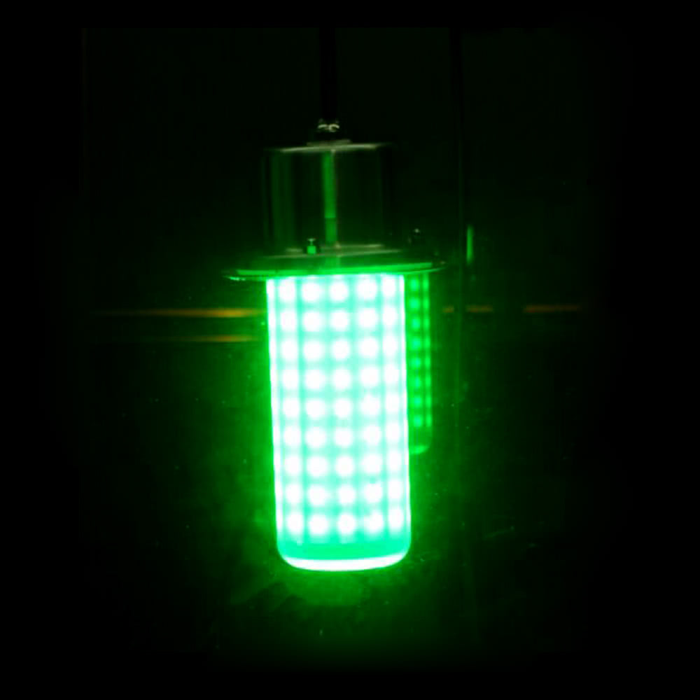 Best led lure light underwater fish attractor green sale for Underwater led fishing lights