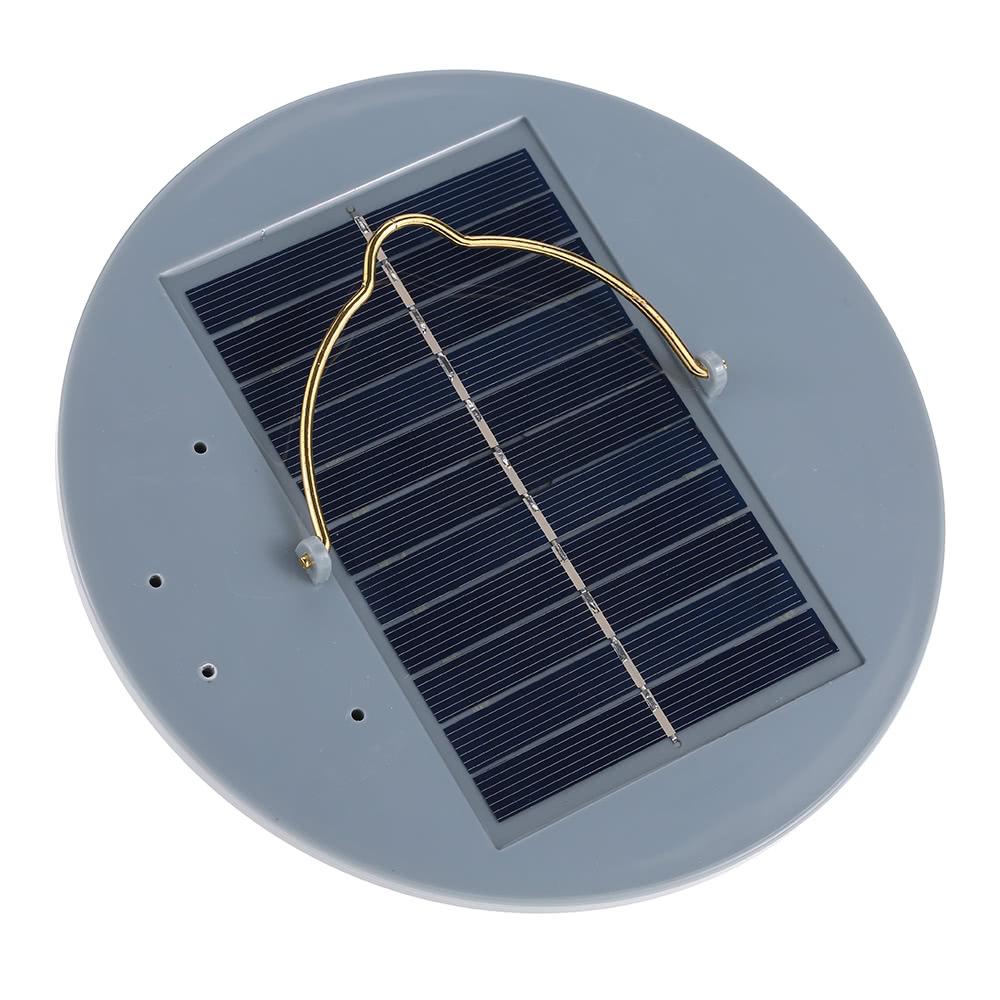 Best 1.5W 15 LED Solar Powered Radar Induction Shed White