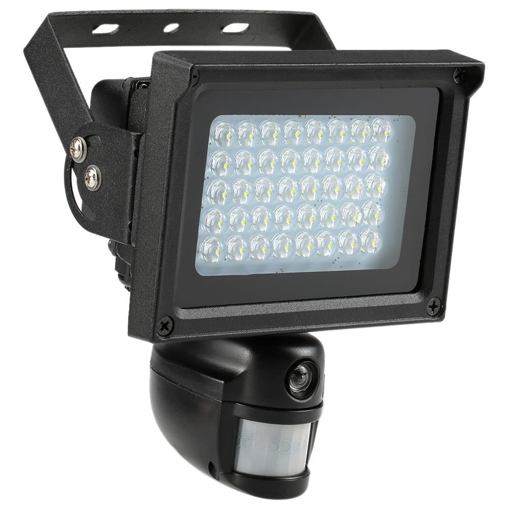 Best 40 IR LEDS Solar Floodlight Street Lamp CCTV Security