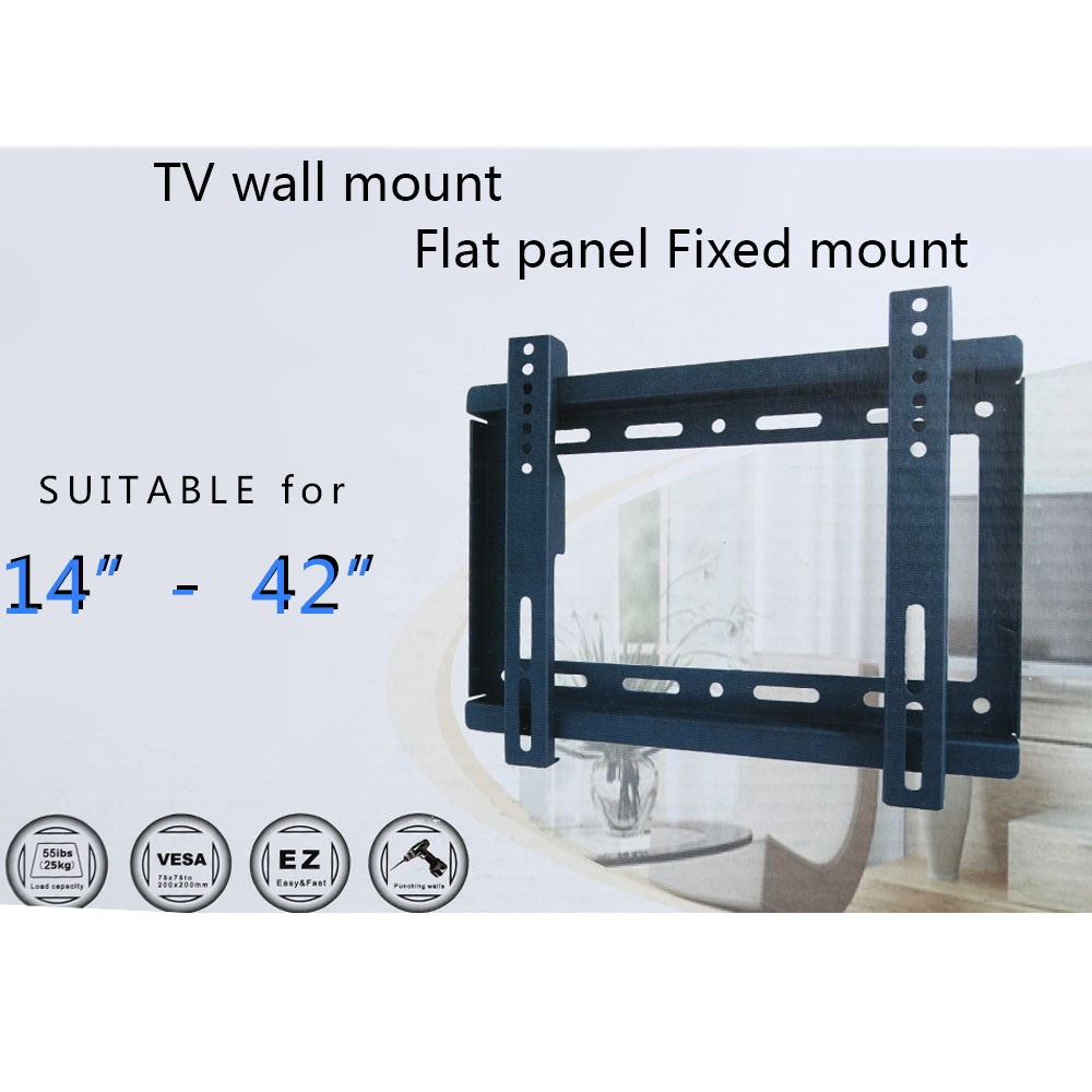 best tv wall mount bracket for 14 42 sale online shopping. Black Bedroom Furniture Sets. Home Design Ideas