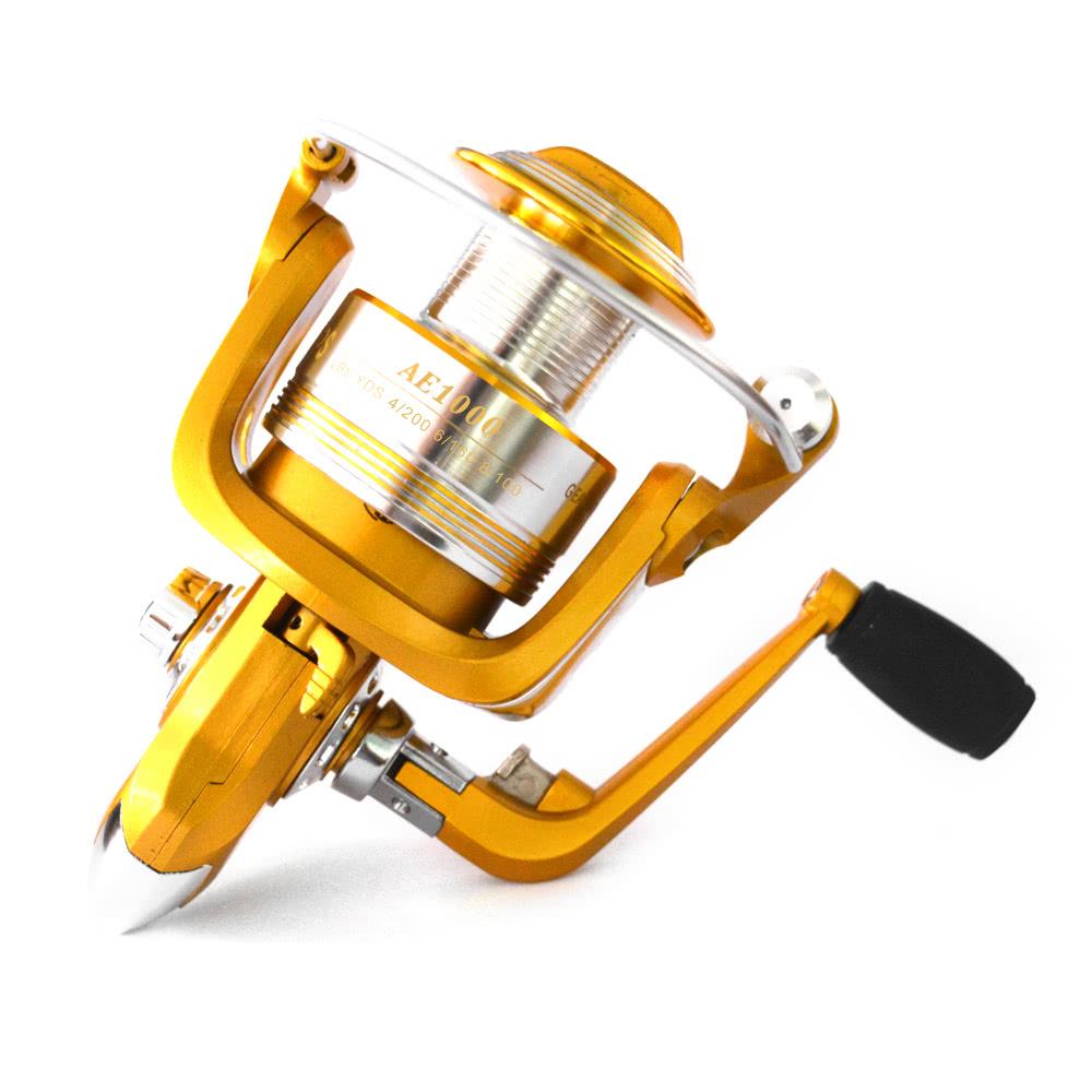 12+1BB Ball Bearings 5.2:1 Lightweight Spinning Fishing Reel-1000