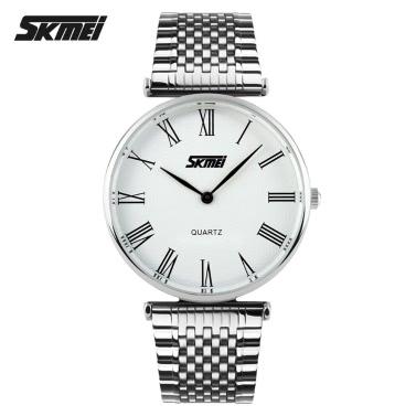 SKMEI Herren Business Quarzuhr Stahlband Fashion Style Herswatches