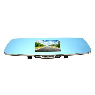 Anytek T6 1080p Rückspiegel Auto Videorecorder DVR Dash Camcorder Doppellinse