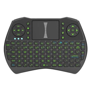 2,4 GHz Wireless-Tastatur mit Hintergrundbeleuchtung