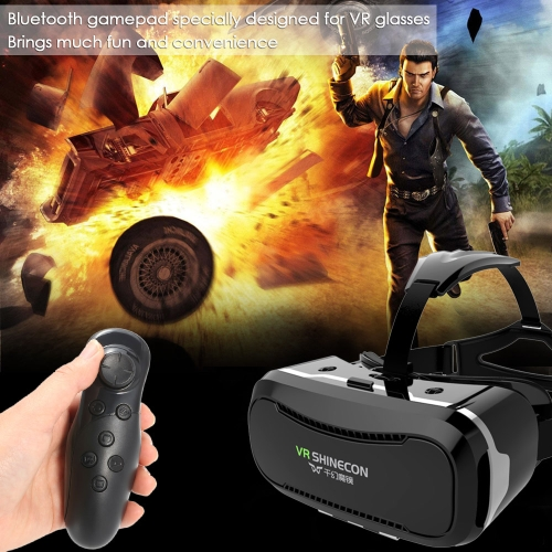 VR SHINECON 2.0 Virtual Reality Glasses 3D VR Box Headset