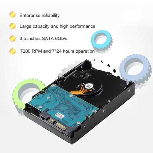 TOSHIBA 1TB Enterprise Hard Disk Drive 7200 RPM 3.5-inch SATA3.0 6Gb/s MG03ACA100