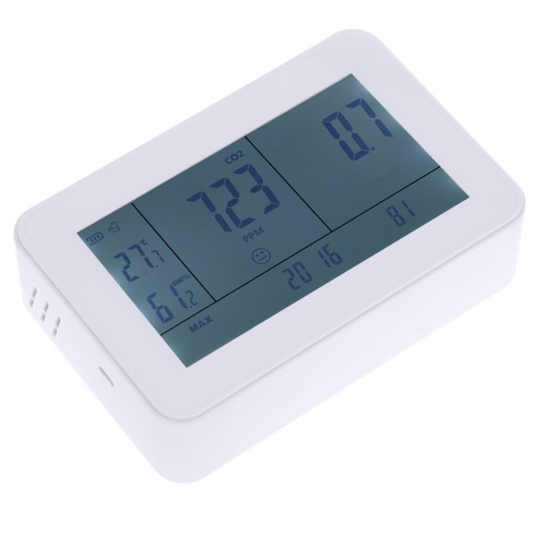 Digital Carbon Dioxide Detector