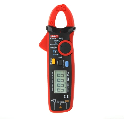 UNI-T UT211B 60A High Resolution True RMS  Clamp Meters