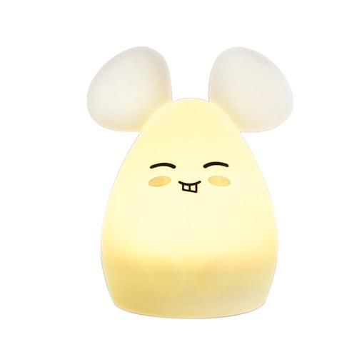 1.6W 8 LEDs Creative Cute Mouse Night Light
