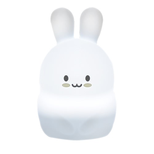 1.6W 8 LEDs Creative Cute Rabbit Night Light