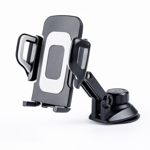 Universal 360°Rotation Automatic Locked Car Mobile Phone Bracket