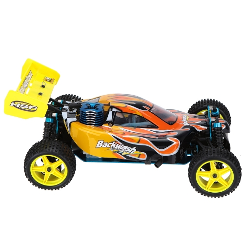 HSP 1/10 94166 Off-road Buggy Backwach Nitro Gas Powered 4WD RTR Remote Control Car