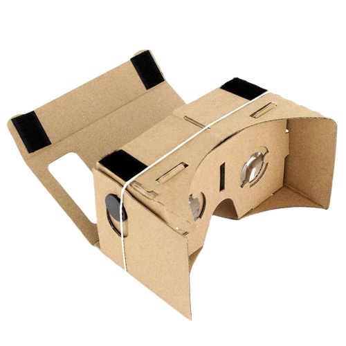 Private VR DIY Cardboard Box Virtual Reality Glasses Headset 3D VR Movie Games