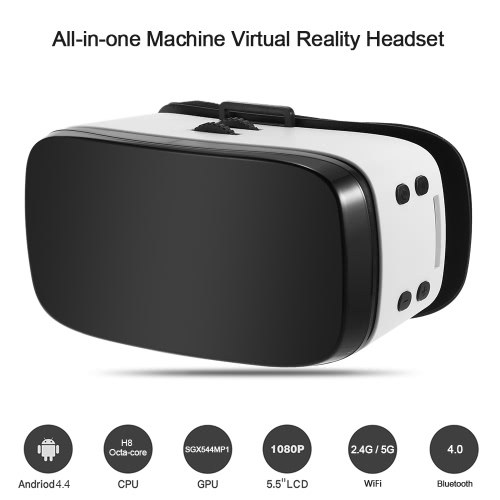 H8 All-in-one Machine Virtual Reality Headset 3D Glasses
