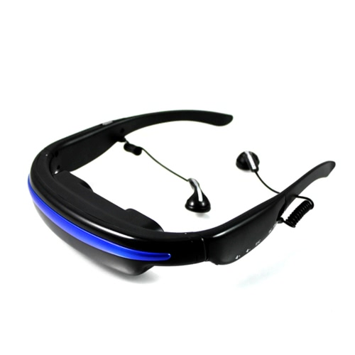 "4GB 52"" 4:3 Virtual Wide Screen Video Glasses Eyewear Mobile with Card Slot"
