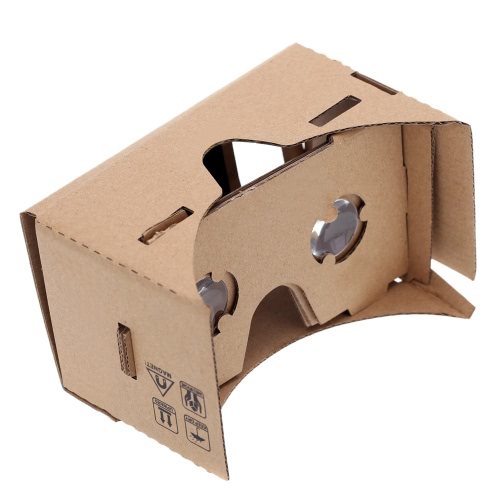 "DIY Google Cardboard Virtual reality VR Mobile Phone 3D Glasses for 5.0"" Screen"
