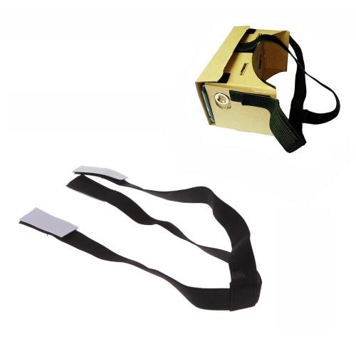 Detachable Elastic Adjustable Head Mount Strap Belt Cardboard 3D VR Glasses