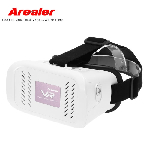 Arealer VR Virtual Reality Glasses Headset Magnetic Switch  Head-Mounted Headband