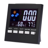 Multi-functional Digital Colorful LCD Thermometer Hygrometer