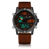 NAVIFORCE New Dual Display Quartz Digital Men Sports Watch