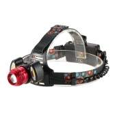 1500LM 3 LEDs Adjustable 90°Up-and-down Rotary Zoomable Head 4 Light Modes Hand-free Headlight Headlamp Flashlight