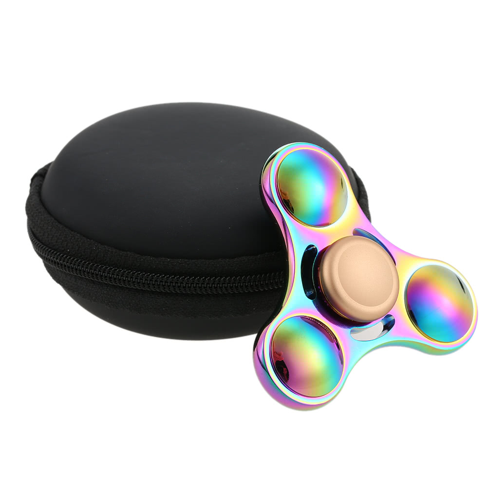 Best Colorful Metal Hand Fidget Tri Spinner Sale Online