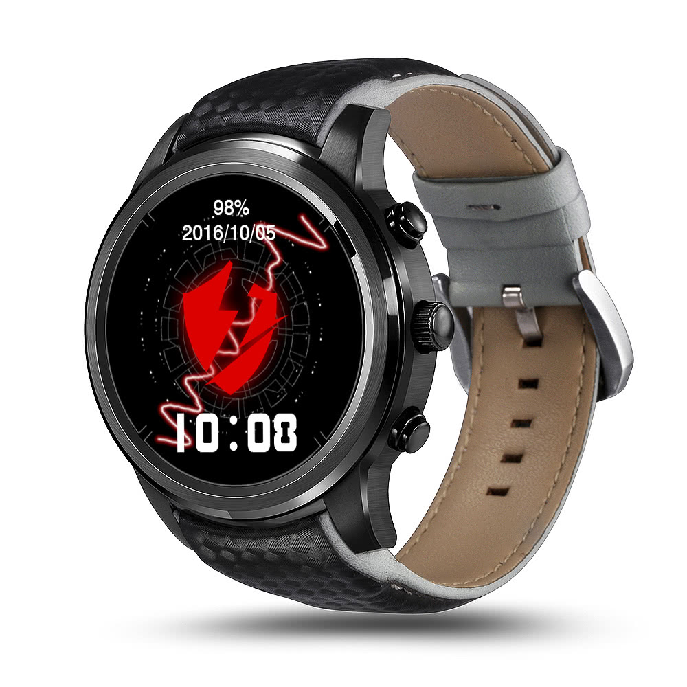 $22.4 OFF LEMFO 3G Smart Watch Phone,free shipping $105.98(Code:WZJ1980B)