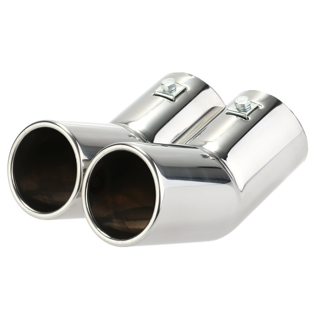 Best Dual Pipes Stainless Steel Exhaust Tail Sale Online