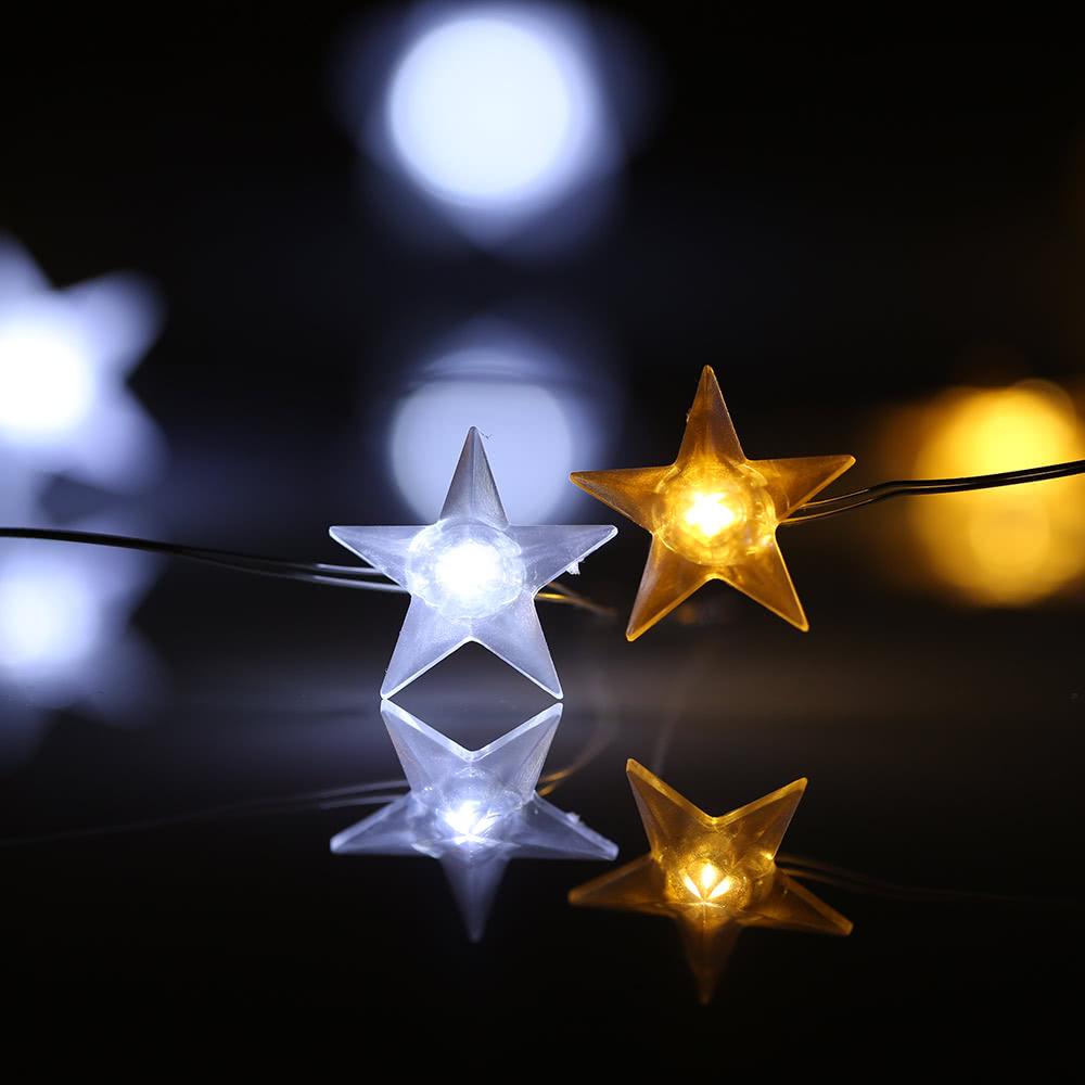 Beste Weihnachten fünfzackigen Stern 40 LEDs 3m # 10 Verkauf Online ...