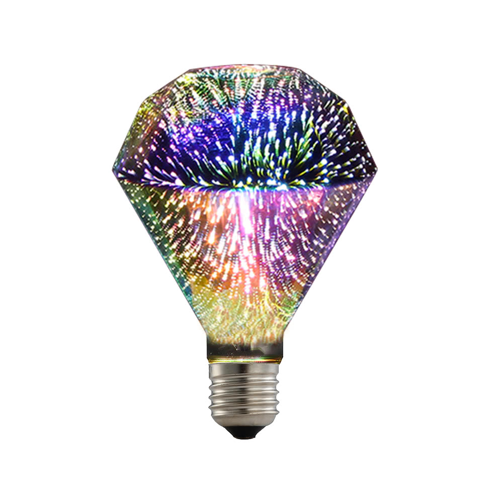 led 3d light bulb colorful decorative lamp - Decorative Light Bulbs