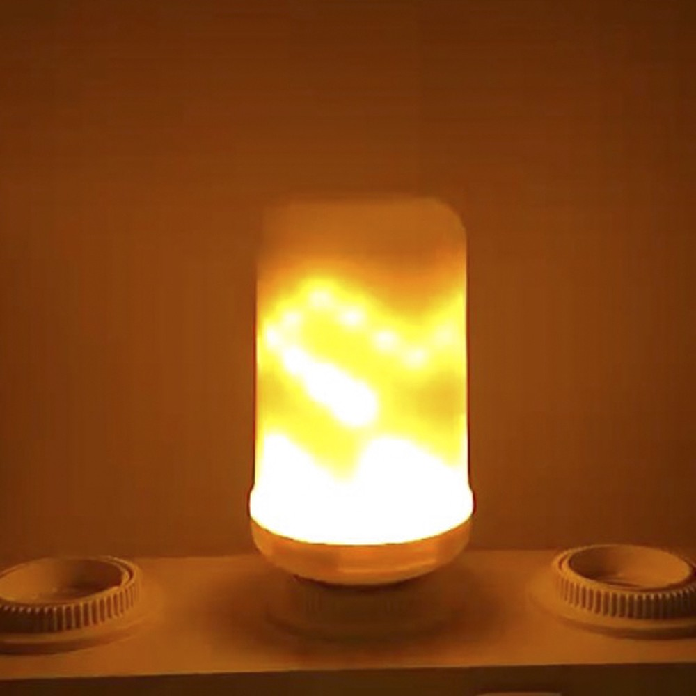$2.5 OFF LED Flame Flickering Effect Fire Light Bulb,free shipping $8.39
