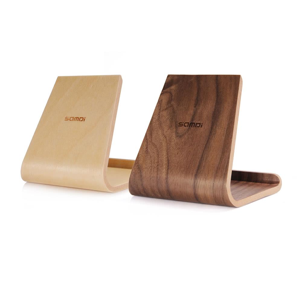 beste samdi walnuss holz telefon tablet st nder walnussfarbe verkauf online einkaufen. Black Bedroom Furniture Sets. Home Design Ideas