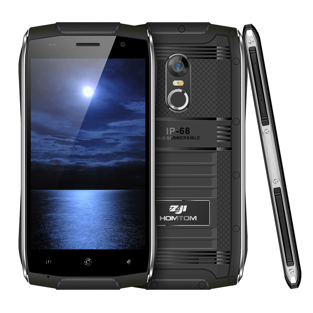 50% OFF HOMTOM ZOJI Z6 Tri-proof Smartphone 3G WCDMA Phone,limited offer $70.29