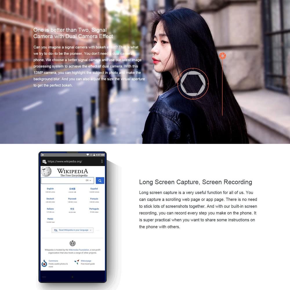 $35 Descuento Vkworld Mix Plus Fingerprint Smartphone Cafago