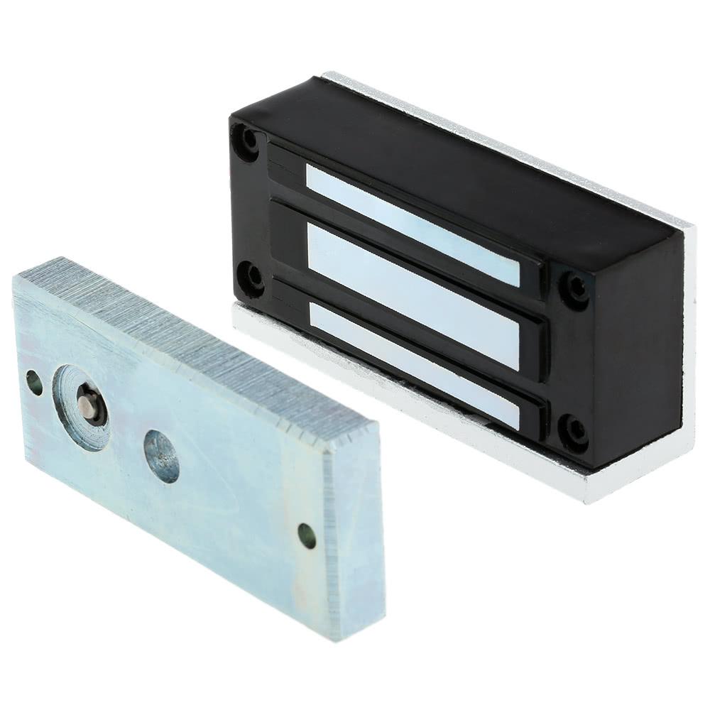 Best 60kg 132lb electric magnetic lock fail secure nc 12v for 12v magnetic door lock