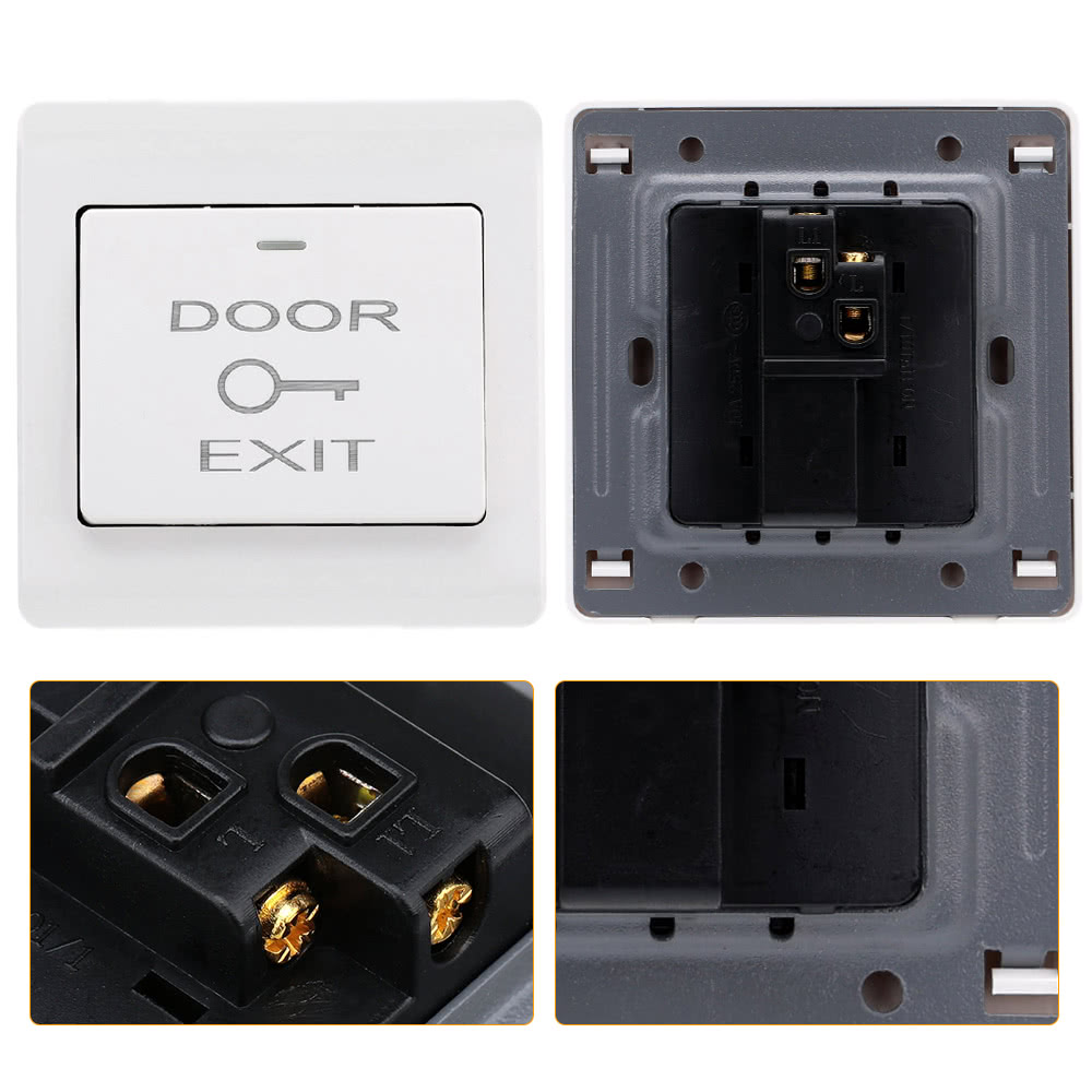 Best kkmoon dc12v door entry access control system with 1 for Door entry systems